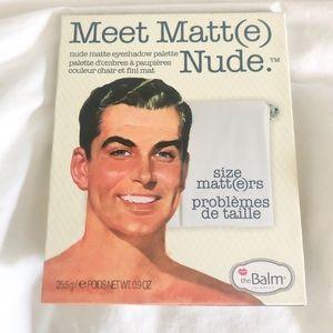 Meet Matt (e) nude pallet.